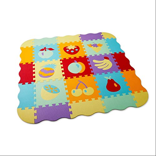 Learn More About Baby Play Mat with Fence, Foam Letters, and Tiles, for Kids, Toddlers, Infants, Tum...