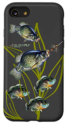 iPhone SE (2020) / 7 / 8 Crappie Fishing Bluegill Fishing Phone Case By Black Fly Case