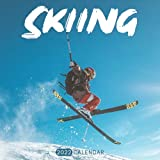 Skiing 2022 Calendar: Mini Calendar 2022 with Large Grid for Note - To do list, Gorgeous 8.5x8.5   Small Calendar, Non-Glossy Paper