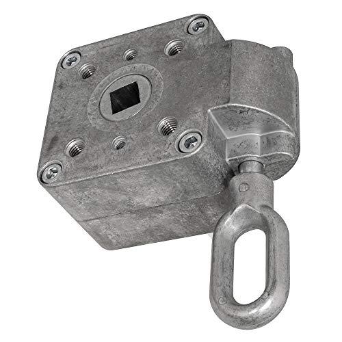 DIWARO.®   Schneckengetriebe für Markisen   Untersetzung 13:1   blank   13mm Innenvierkant   Markisengetriebe
