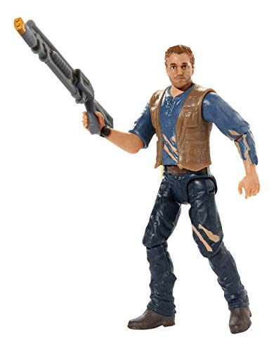 Mattel Jurassic World FMM07 - Lockwood Battle Owen Actionfigur