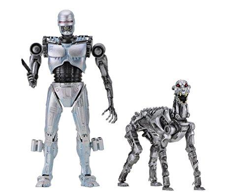 RoboCop vs The Terminator Figuras EndoCop & Terminator Dog Neca