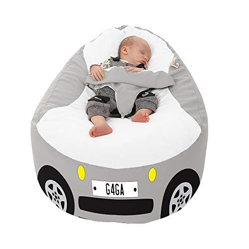 Racing Car Gaga+ Baby to Junior Beanbag (Platinum)