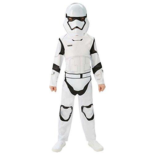 NET TOYS Kinderkostüm Stormtrooper Star Wars Kostüm L - 140 cm Klonkrieger Outfit Kinder Sturmtruppler Verkleidung Starwars Kleidung Jungen Fantasy Krieger Faschingskostüm Clonetrooper