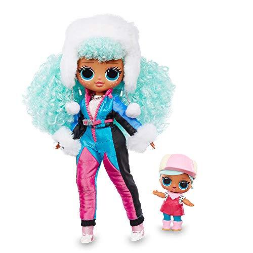Giochi Preziosi -L.O.L Surprise OMG Winter Chill: Icy Gurl e Brrr B.B. Doll Bambola e miniatura, colore non applicabile (LLUE3100)