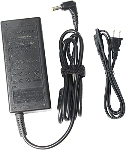 PA3822U-1ACA PA5044U-1ACA PA5096U-1ACA PA5177U-1AC3 Adapter Charger Compatible with Toshiba Satellite C50 C55 C75 E45T L50 L55 L55D L75 S50 S55 S70 S75 L955 P840 P845T S955 Power Supply Cord