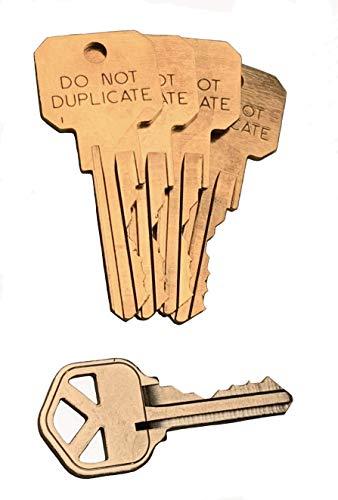 Rekey Kit for Kwikset Smartkey Locks with Extra precut Keys Stamped'DO NOT Duplicate' (4)