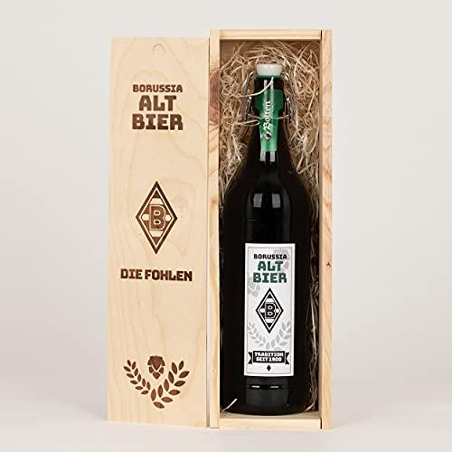 Borussia Mönchengladbach Bier/Altbier 1 Liter mit Presentbox