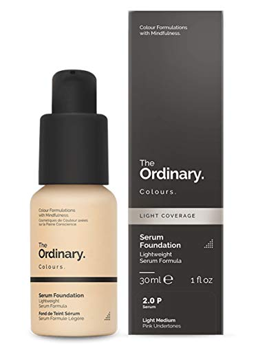 The Ordinary Serum Foundation 30ml (2.0P Light Medium Pink Undertones)