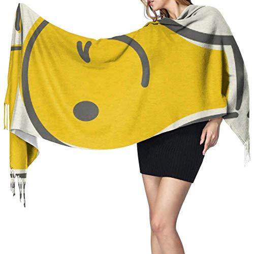 27 'x77' mode écharpe drôle jaune nouvelle idée ampoule écharpe longue écharpe Wrap châle élégant grande couverture chaude