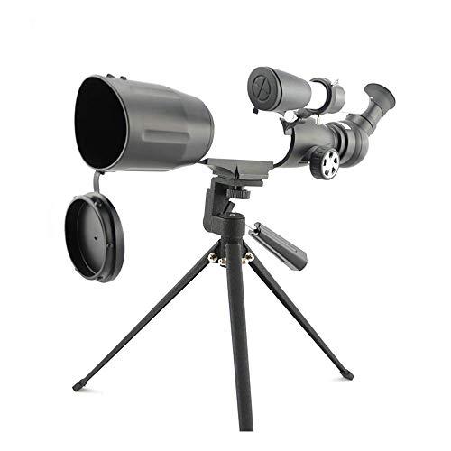 Telescopio de alta definición Boutique telescopio, telescopio refractario astronómico portátil de montaje manual con trípode y 2 oculares telescopio para niños principiantes para astrofotogr