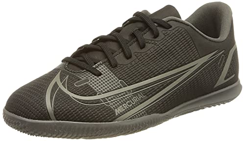 Nike Vapor 14 Club IC, Zapatos de fútbol (IN), Black Black-Iron Grey, 36.5 EU