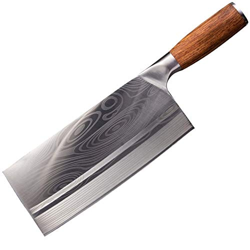 Kitchen Knife Chinese Slicing Knives Super Sharp Blade Vegetable Meat Fish Knife 4Cr14 High Hardness Kitchen Cooking Knives Cleaver