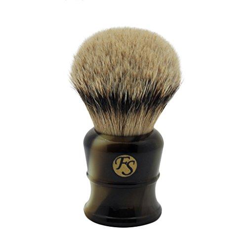 Super Large 30mm Silivertip Badger Hair Shaving Brush Handmade by Frank Shaving Wet Shaving