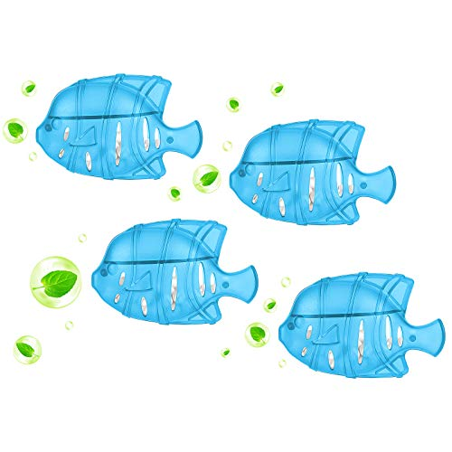 Greenf Universal Humidifier Fishtank waterpool Cleaner/Cleaning Fish,Improve Water Cleanliness,Compatible with Most Humidifier (Blue 4 Packs)