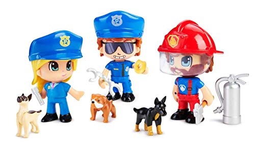 Pinypon Action - Figura Emergencia con Perro, 1 unidad, modelos / colores surtidos