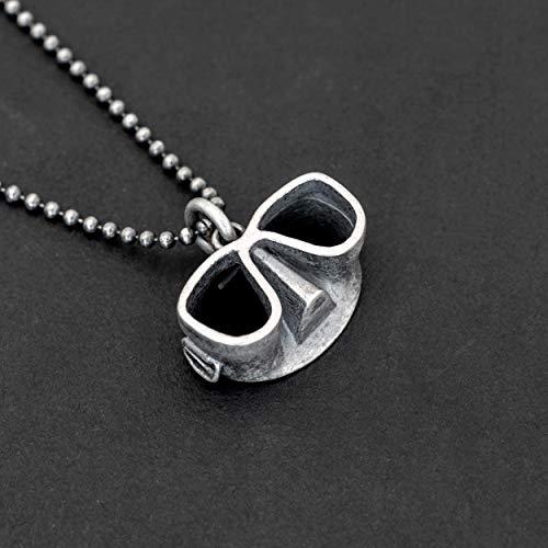 925 collar de plata esterlina para hombres colgante para hombre collar