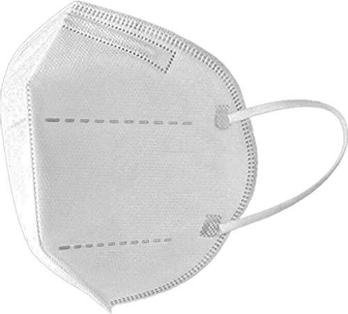 5-lagige FFP2-Maske 10 Einheiten Typ III Zugelassenes amtliches Zertifikat CE 2797, EU-Standard 2016/425 und BSI 2020/403