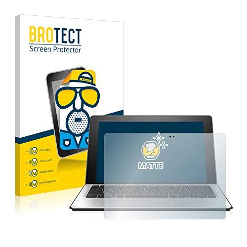 BROTECT Entspiegelungs-Schutzfolie kompatibel mit HP Elite x2 1012 G1 Bildschirmschutz-Folie Matt, Anti-Reflex, Anti-Fingerprint