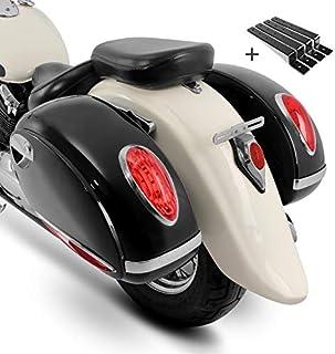 Seitenkoffer Craftride Alabama (Paar) je 33l + Haltesatz Suzuki Intruder VL 1500/250 LC/VL 800 Volusia, Intruder VS 1400/600/ 750/800, LS 650 Savage, Marauder VZ 800