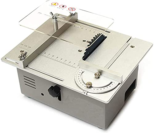 Sega da tavolo portatile da banco , 120W Seghe da tavola di precisione 120W, FAI DA TE Strumento di taglio desktop multifunzion