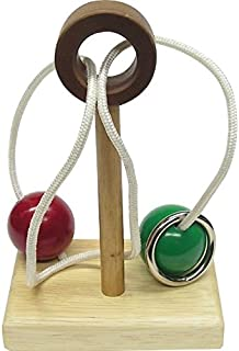 japanese ball ring rope puzzle