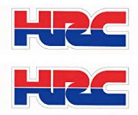 HONDA ホンダステッカー HI-925 HRC SSサイズ 35×13mm 2枚入り