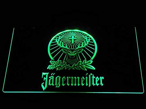 Nur 1 Stück Deutschland Werbelampe Led Logo Jägermeister Hirsch LED Leuchtreklame Nachtlicht Dekorative Luminaria