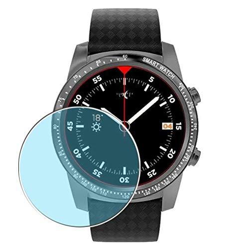 Vaxson 3 Stück Anti Blaulicht Schutzfolie, kompatibel mit AllCall W1 Smartwatch smart watch, Displayschutzfolie Anti Blue Light [nicht Panzerglas]