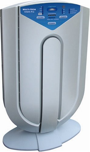 Surround Air Intelli-Pro XJ-3800 7-in-1 Intelligent Air Purifier with Sensors that Monitor Air...