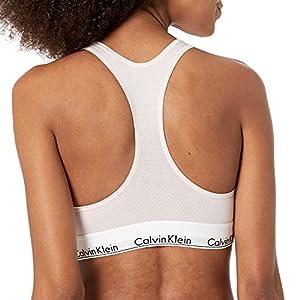 Calvin Klein Women's Regular Modern Cotton Bralette, Nymph'S Thigh, S