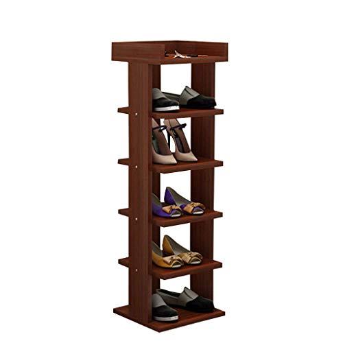 30 cm breed schoenenrek pantoffels planken planken staan rechtop hout MDF bord voor hal woonkamer slaapkamer gang 30 x 30 x 96 cm.