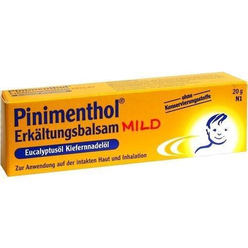 Pinimenthol mild Erkältungsbalsam, 20 g Salbe