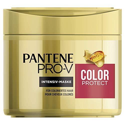 Pantene Pro-V Color Protect Intensiv-Maske, 300 ml, für Coloriertes Haar, Haarpflege Glanz, Haarmaske, Haarkur, Haare Kur, Haar Mask, Gold