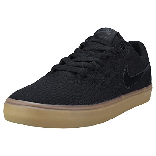 Nike Mens SB Check Solar (9 M US, Black/Black-Gum Light Brown)