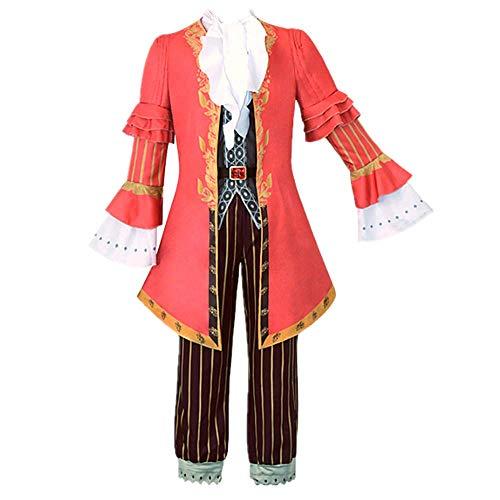 Game Identity V Murro Cosplay Kostüm Halloween Geburtstagsgeschenk für Damen Herren Gr. X-Large, rot