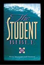 The Student Bible: NIV Navy Bonded Leather Compact