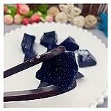 YSJJSQZ Cristal áspero Joyería de Cristal áspero Crudo de Cuarzo Suelto Piedra Natural Citrino Rosa colección de pilares de Cuarzo (Color : 30 50g Blue Sands)