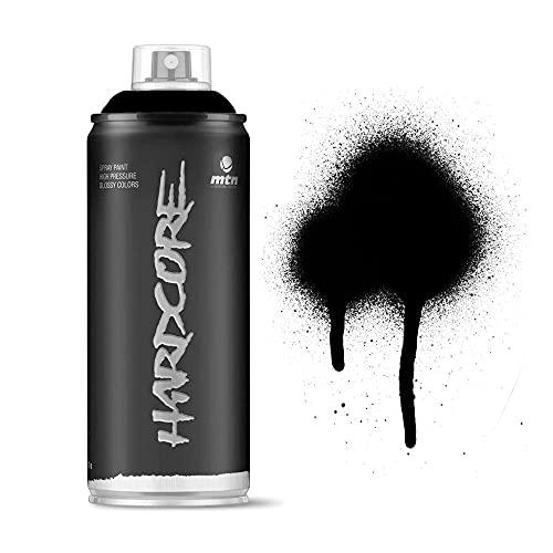 Pintura en spray MTN HC2 Negro Mate 400ml