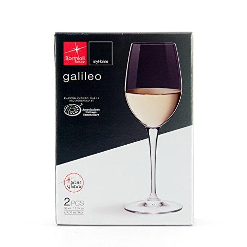 Bormioli Rocco Galileo VAP, Vin Blanc - Lot De 2