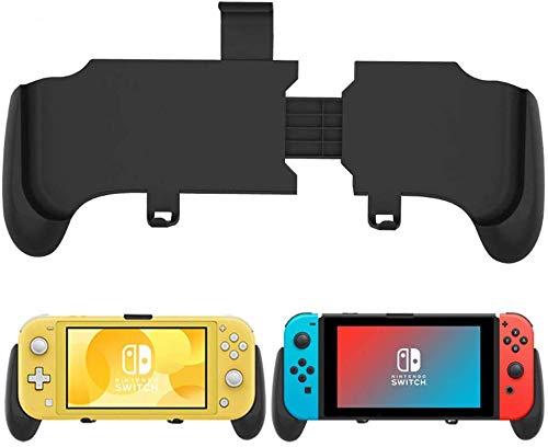 Yocktec Grip Ständer Case für Nintendo Switch/Nintendo Switch Lite, Joy-Con Grips Triggers, Komfort Switch Handgriff Halter Hülle mit Spiele Karte Schutzhülle für Gamepad Controller.