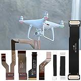 Snufeve6 Juego de Cables de cardán, Cable de cardán para Drones, Juego de Cables de cardán para reparación de Drones, para Mantenimiento de fabricación Fantasma, Duradero, fácil de Instalar