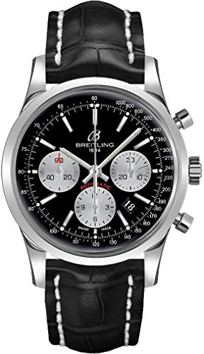 Breitling Transocean AB015212/BF26-743P - Reloj cronógrafo para hombre