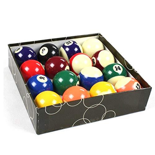 BNXTF Kinder Billardkugeln, professionelle kleine Billard Full Set Harz Mini Billard Tischkugeln Set Kinderspielzeug, für Erwachsene & Kinder (3.2cm)