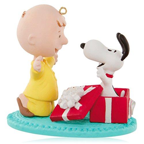 Price comparison product image Hallmark Keepsake Ornament: Peanuts A Snoopy for Christmas