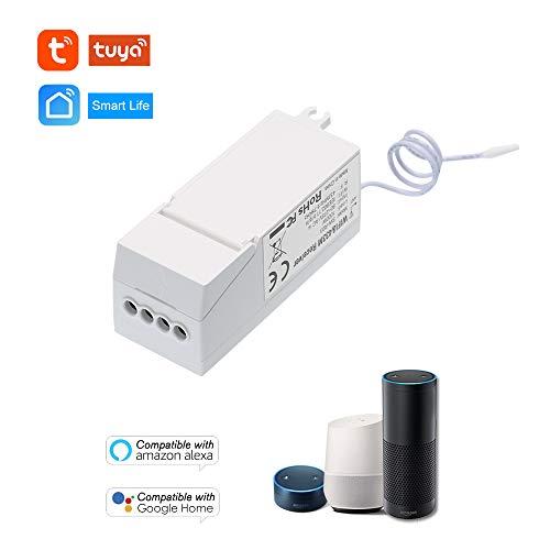 AC 80~275V Interruptor inalámbrico Interruptor WiFi + 433 MHz Controlador de Receptor Sin cableado Control Remoto Cámara Iluminación y electrodomésticos APLICACIÓN del teléfono Control Remoto