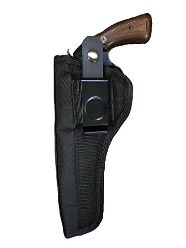 Nylon Belt or Clip on Gun Holster Fits Ruger Blackhawk, Super Blackhawk, Vaquero, Single Six, Super Single Six, Bisley Vaquero, Redhawk, Old Army (6 Shot) with 7 1/2' Barrel