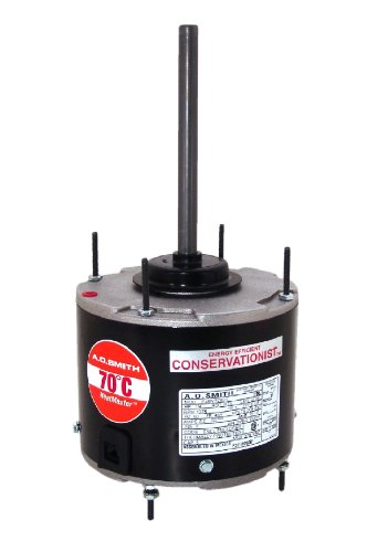 A.O. Smith FSE1028SF 1/4 HP, 825 RPM RPM, 825 volts Volts, 1.5 Amps, 48 Frame, Sleeve Bearing Condenser Motor