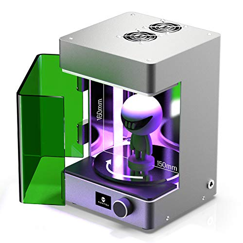 sainsmart 3d printers SainSmart Upgraded UV Curing Chamber for SLA/LCD Resin 3D Printer, Curing Volume 150 x 150 x 160 mm