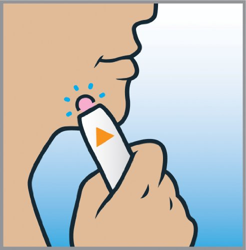 Homedics LTH-100-EU Tanda Zap Dispositivo per Anti-Acne, 1000 Trattamenti da 2 Minuti, Bianco